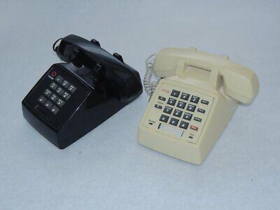 Lotx 2- Vtg Lucent Avaya Analog Telephone 2500 Mmgm Pushbutton Desk Phone Tested