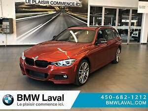 2018 BMW 330I xDrive Touring ÉDITION M SPORT II, M PERFORMANCE