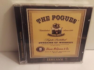 WEST CORK DISTILLERS THE POGUES IRISH WHISKEY - UNUSED MAT Cat 004