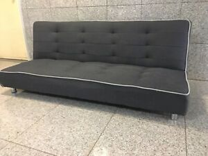 Charcoal color sofa bed