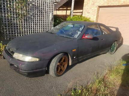 Wrecking: Nissan Skyline r33 rb25det manual