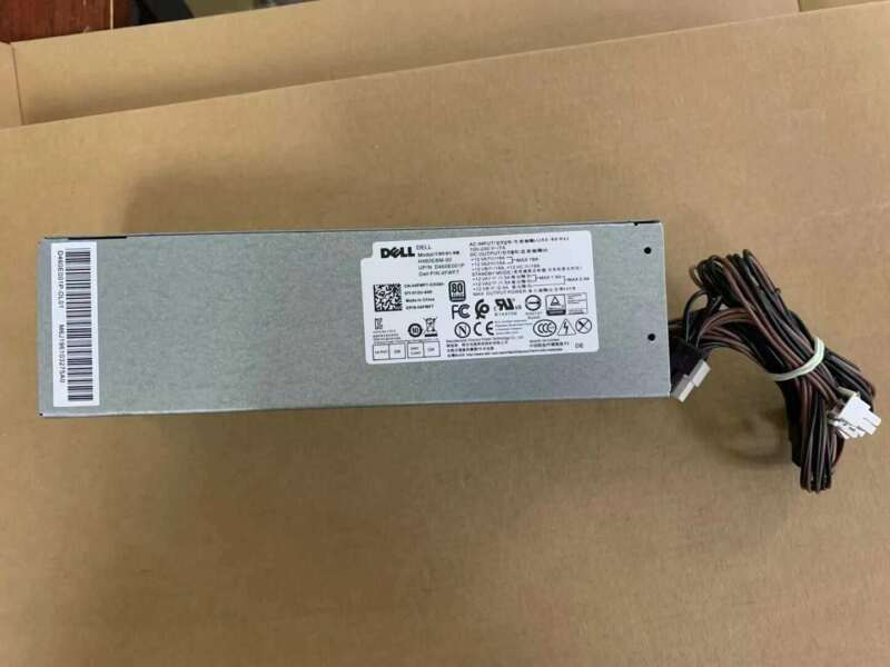 04FWF7 FOR DELL 6+4PIN 3046 3040 3050 5050 7050 MT 460W Power Supply Tested
