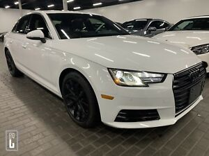 2017 Audi A4 2.0T Progressiv quattro Sedan-NAVI-BACKUP CAMERA-O