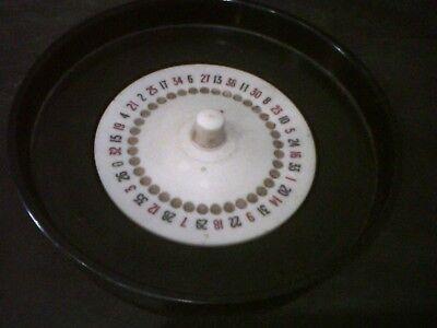 Vintage K & C Ltd. Roulette wheel good condition