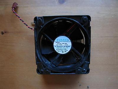NMB  Model 3610KL-04W-B20 DC BRUSHLESS FAN MOTOR 12VDC, 0.12A