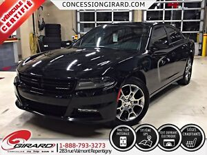 2015 Dodge Charger SXT AWD*NAVIGATION*MAGS 19''*TOIT OUVRANT*