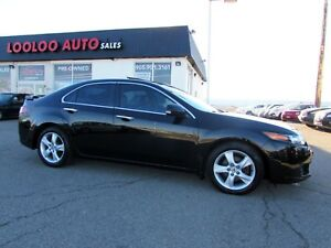 2009 Acura TSX Premium PKG 6-Speed Manual Leather Certified 2YR