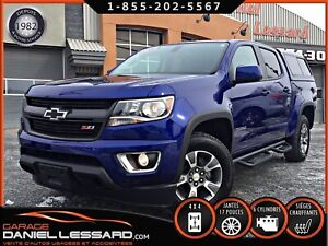 Chevrolet Colorado 4WD Z71, V-6, CREW, CUIR / TISSUS, CAMERA ET
