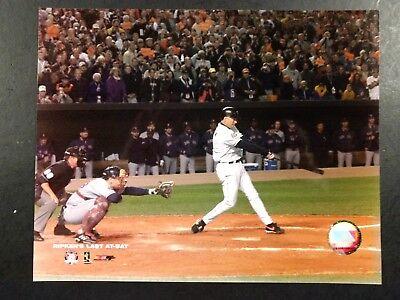 CAL RIPKEN JR. Final at Bat LAST GAME 8X10 Photo Baltimore Orioles -