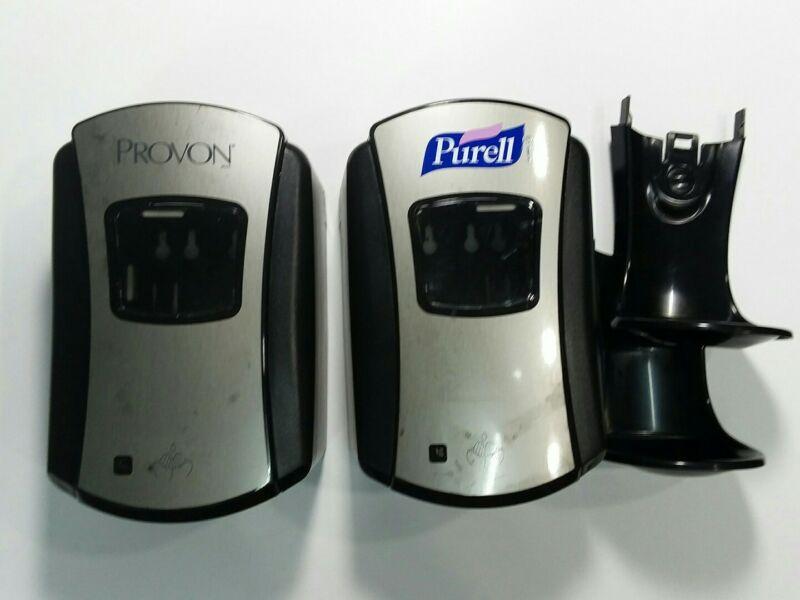 GOJO PROVON Touchless Foam Hand Soap Dispenser Black Chrome Automatic TESTED