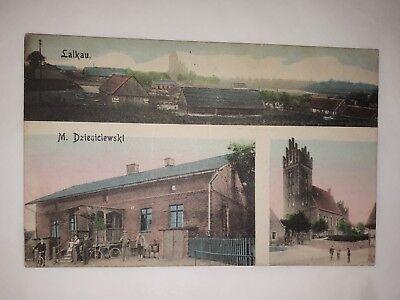 alte AK Ansichtskarte Postkarte Lalkau Lalkowy Polen Deutsches Reich Preußen
