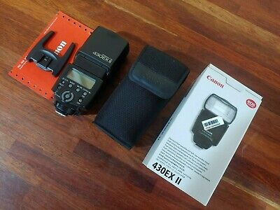 Mint Condition Canon 430EX II Shoe Mount Flash Mount for Canon !