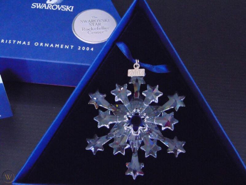 swarovski christmas ornament 2004