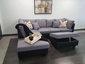 Sofa sectionnel neuf vendues directement de l'entrepôt