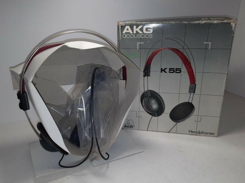 Vintage AKG Acoustics K55 Headphones