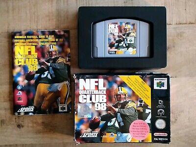 NFL Quarterback Club 99 Nintendo 64 N64 PAL CIB OVP