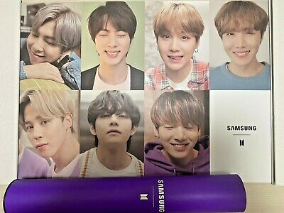 BTS Samsung Galaxy S20 Poster Official photograph Bromide limited edition rare