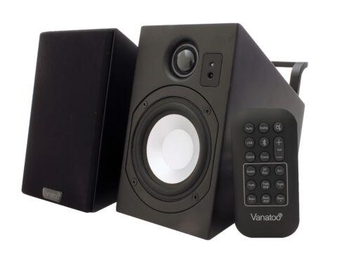 Vanatoo Transparent Zero Powered Desktop and Bookshelf Speakers
