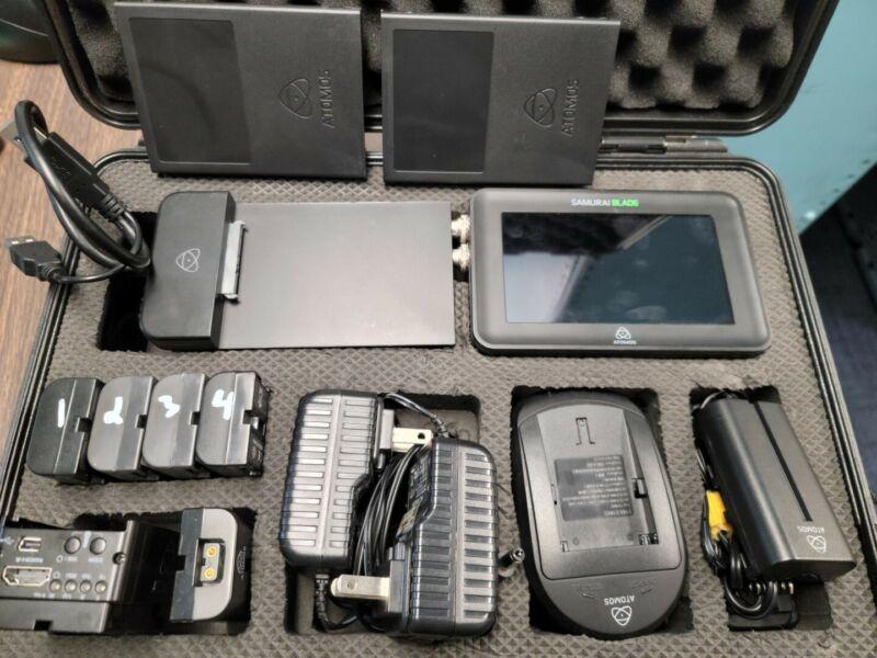 Atomos Samurai Blade and Connect H2S HDMI to SDI converter