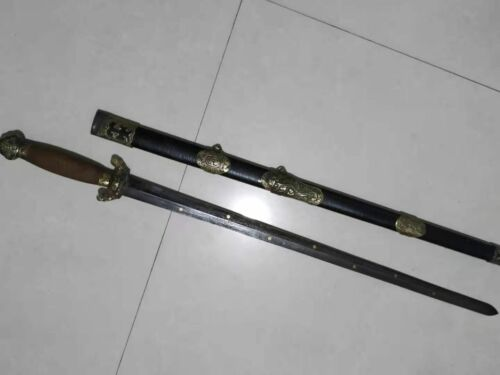 Collectable Chinese Jian Sword Sharp Folded steel old Blade