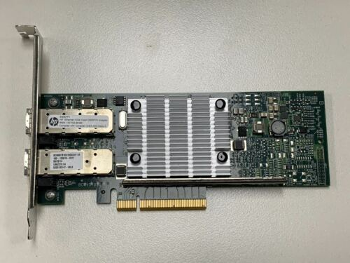 HP 656244-001 Ethernet 10Gb Dual Port 530SFP+ PCIe Adapter Card 652501-001