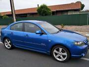 2004 Mazda 3 Sedan SP23 BK Series 1 Manual Blue 4 Near New Tyres Hillcrest Port Adelaide Area Preview