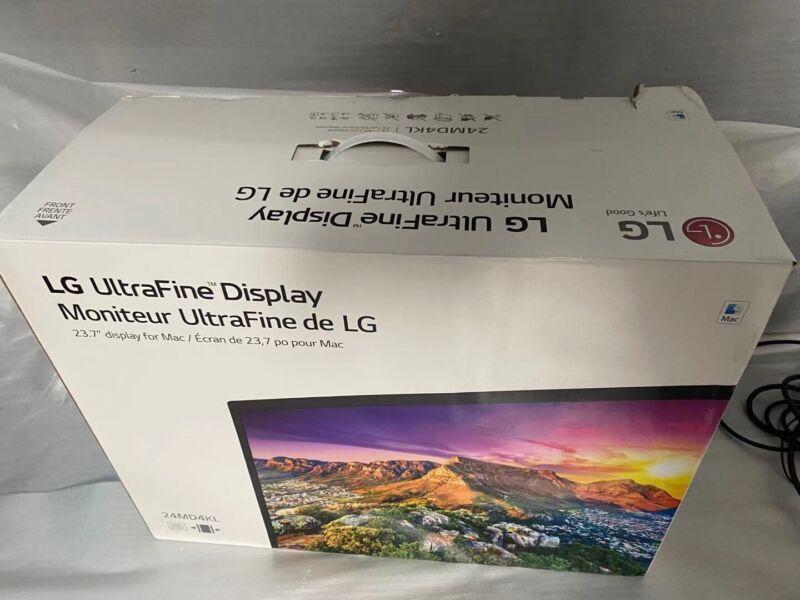 """LG UltraFine 4K 24MD4KL-B 24"""" Display Monitor Mac mini iMac iPad MacBook Pro Air"""