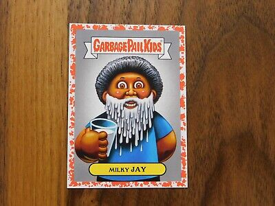 2019 Garbage Pail Kids We hate the 90's RED 4b Milky Jay #25/75
