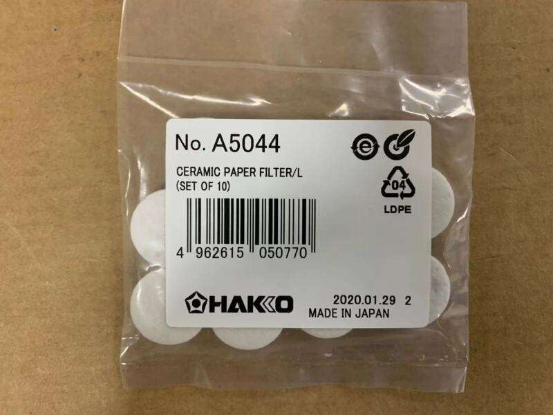 1set=10pcs For HAKKO Ceramic Paper Filter A5044 Replacement to A1033
