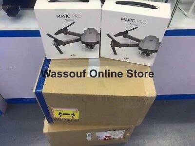 DJI Mavic Pro Platinum Fly More Combo Drone 4K Foldable Professional Camera