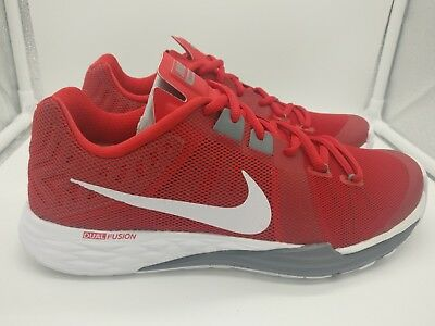 3d432e4953d0 Nike Train Prime Iron DF UK 7 Dual Fusion University Red White Grey  832219600