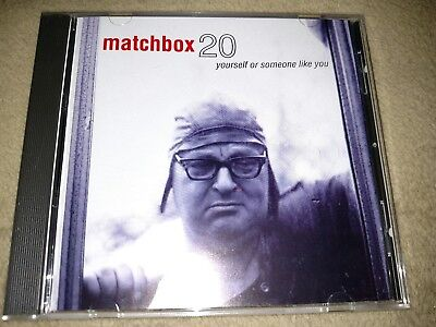 MATCHBOX 20 cd YOURSELF OR SOMEONE LIKE YOU rob thomas free US shipping