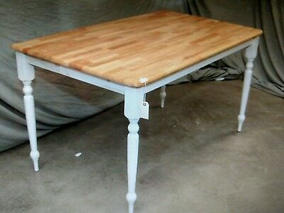 4 Wood Cafe Restaurant Farm Country Tables Table 60 X 30 12 X 30h T15