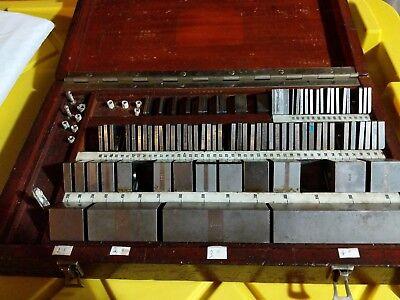 Pratt Whitney Gauge Gage Block Set