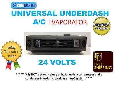 UNIVERSAL UNDER DASH AC EVAPORATOR UNDERDASH A/C AIR CONDITIONER  UNIT 24V 404-1