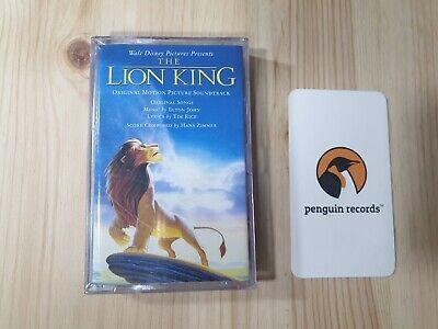 WALT DISNEY - THE LION KING O.S.T CASSETTE TAPE KOREA EDITION BRAND NEW SEALED