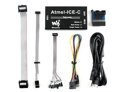 Atmel-ice-c Kit For Debugging And Programming Atmel Sam And Avr Microcontroller
