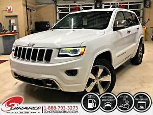 2015 Jeep Grand Cherokee OVERLAND DIESEL PLAN D'OR *FULL*