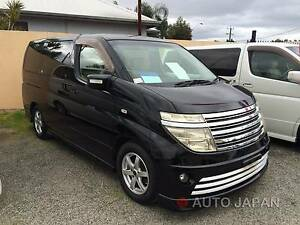 Nissan Elgrand – RIDER STUNNING BLACK ###SALE!!!!!!#### Kenwick Gosnells Area Preview