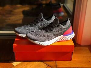 94c2a8ada20d Nike Epic React Flyknit - US Men  39 s 9 (Black  47 White  47 Red ...