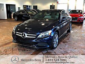 2016 Mercedes-Benz C-Class C300 4MATIC, toit pano, navi, cam rec