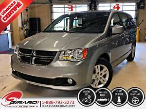 2018 Dodge Grand Caravan CREW*NAV*STOW-N-GO*CUIR*BLUETOOTH*