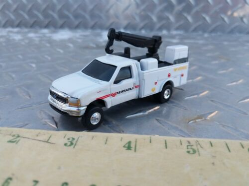 1/64 CUSTOM farm toy 14  Ford f350 versatile dealer service pickup truck s scale