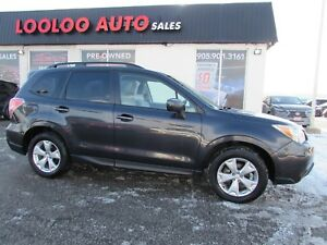 2014 Subaru Forester 2.5i TOURING PKG CAMERA SUNROOF CERTIFIED 2
