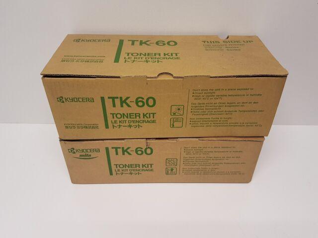 Genuine New Kyocera TK-60 For Ecosys Printer 1800 & 3800 Series