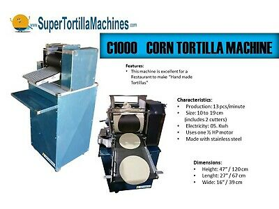 Corn Tortilla Machine Equipment Head - Compact Design