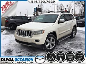 2011 Jeep Grand Cherokee Limited + 4WD + CLIMATISATION + SIÈGES