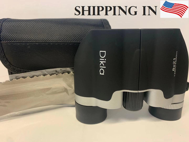 Mini Portable Day/Night 8×21 Zoom Military Binoculars Optics Hunting Camping U5 Binoculars & Monoculars