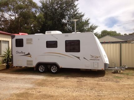 CARAVAN FOR HIRE - 2009 Jayco Sterling 20.62.2 (VIC/Brookfield) Brookfield Melton Area Preview