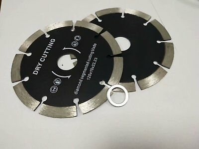 9 Diamond Saw Blade Segmented Dry 10 Piece Cutting Stone Concrete Blocks Bricks